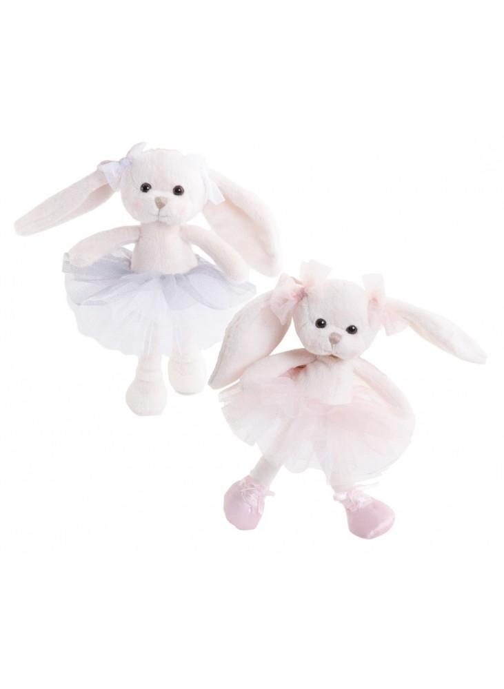 Little Dancing Monique rose  ou gris lapin Peluches Bukowski