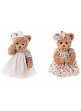 Léa ours brun Peluches...